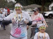 RIDGEFIELD: The Ridge Color Run held on March 7 at Davis Park raised close to $11,000 to benefit Sunset Ridge Intermediate and View Ridge Middle schools.