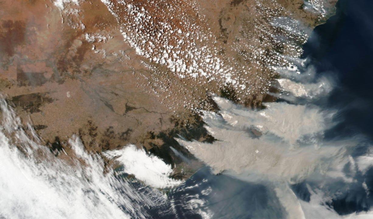 'Climate-change fingerprint' in bushfires
