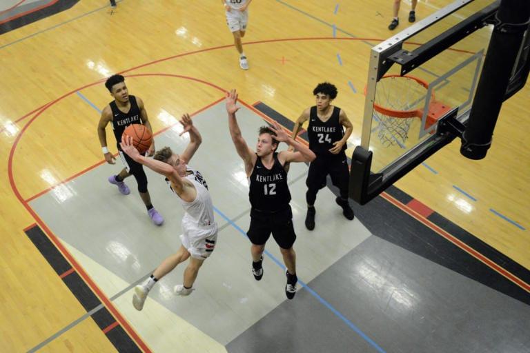 Down The Lane. Basketball Bracket Entry 8.