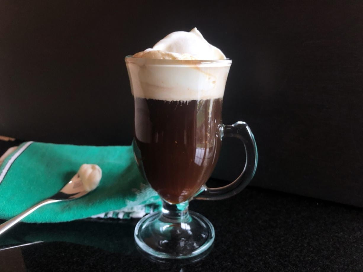 Irish coffee (Elizabeth Karmel)