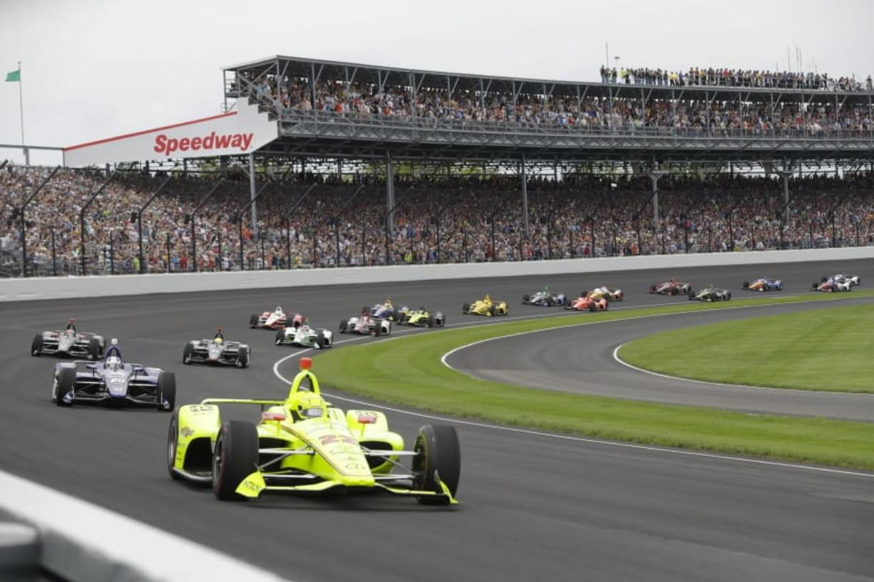 The Indianapolis 500 won't run on Memorial Day weekend for the first time since 1946.