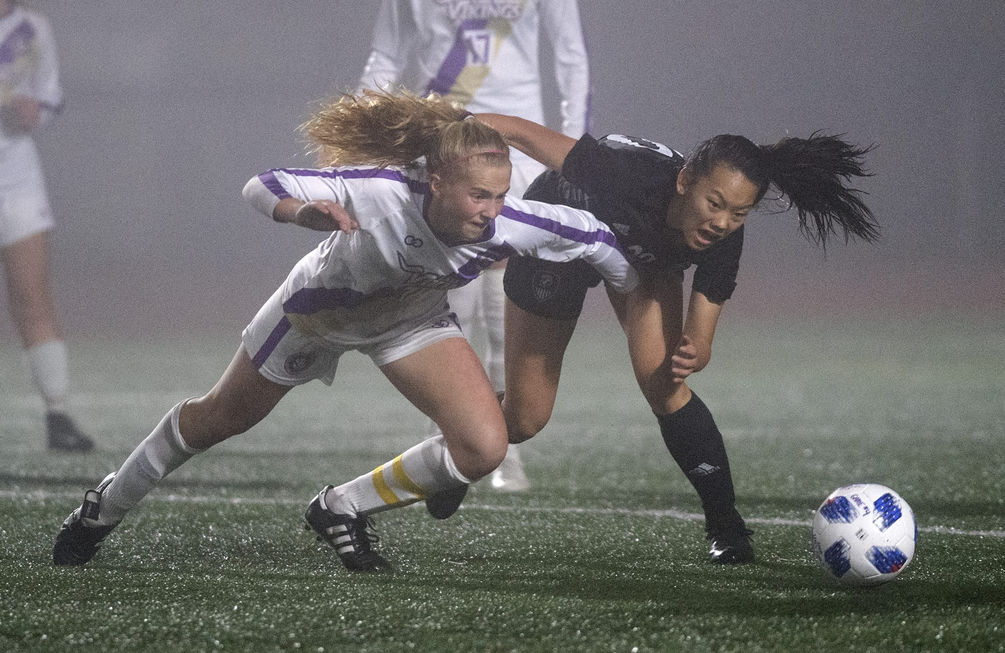 Soccer In The Fog. Other Sports Bracket Entry 13. Photo by Alisha Jucevic