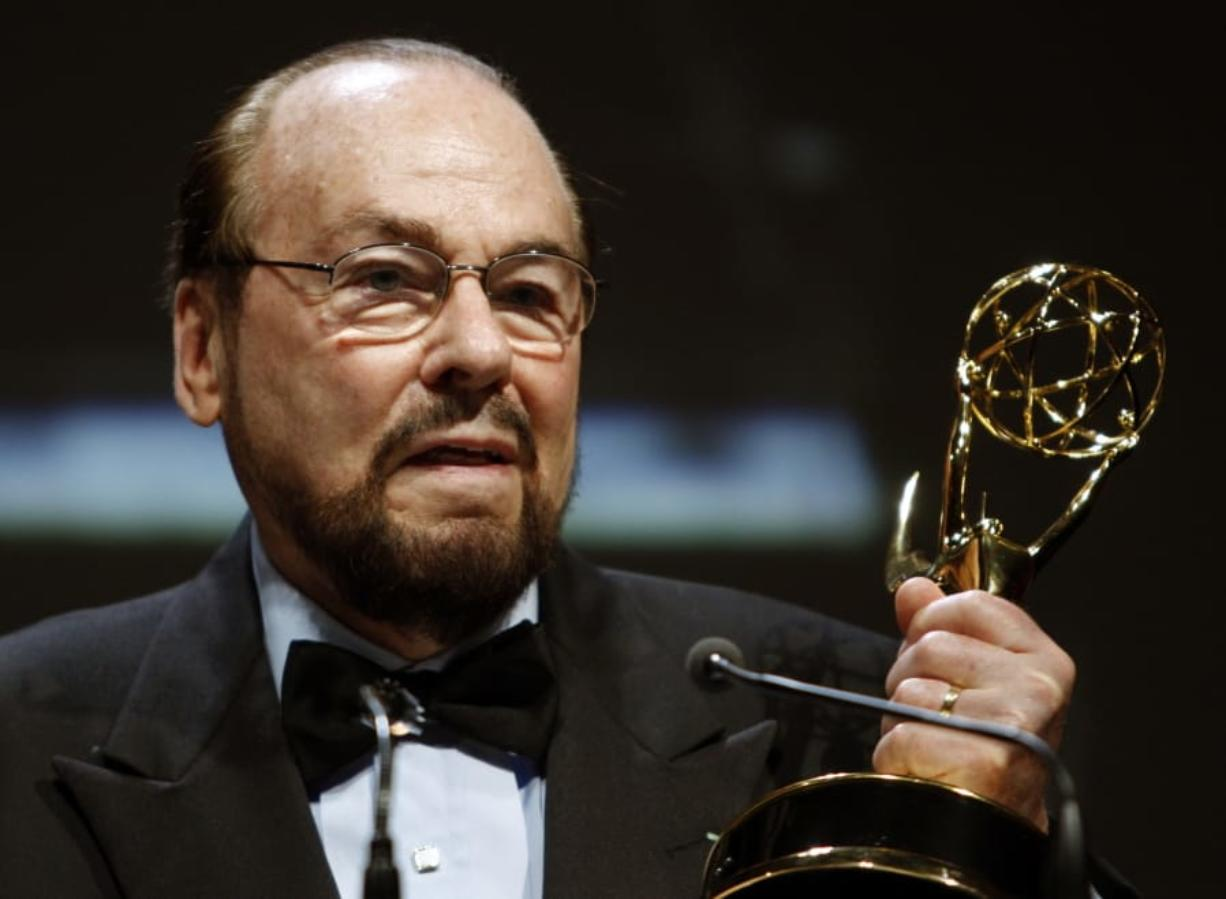 James Lipton with the Lifetime Achievement Awards from the Emmy Awards in Los Angeles in 2007. Lipton died Monday.