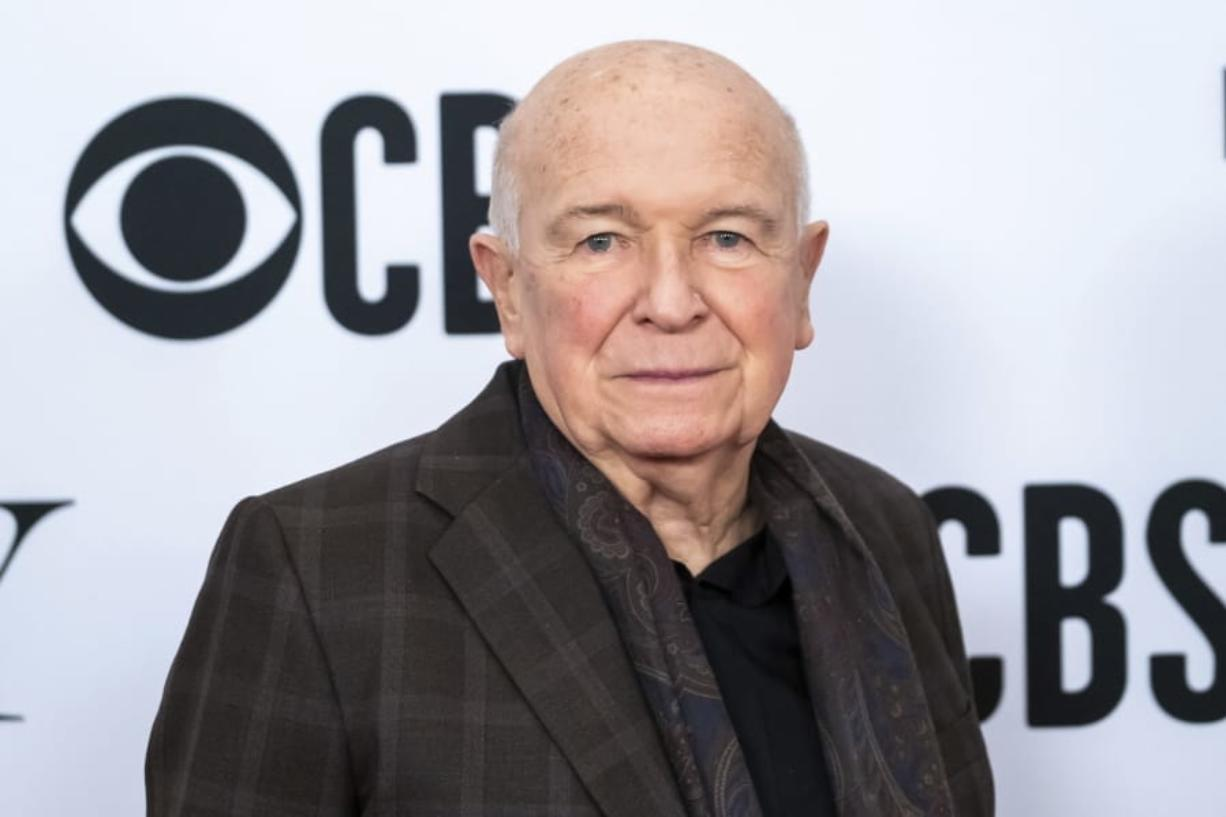 "FILE - This May 1, 2019 file photo shows playwright Terrence McNally at the 73rd annual Tony Awards ""Meet the Nominees"" press day in New York. McNally, one of America's great playwrights whose prolific career included winning Tony Awards for the plays ""Love! Valour! Compassion!"" and ""Master Class"" and the musicals ""Ragtime"" and ""Kiss of the Spider Woman,"" died Tuesday, March 24, 2020, of complications from the coronavirus. He was 81."