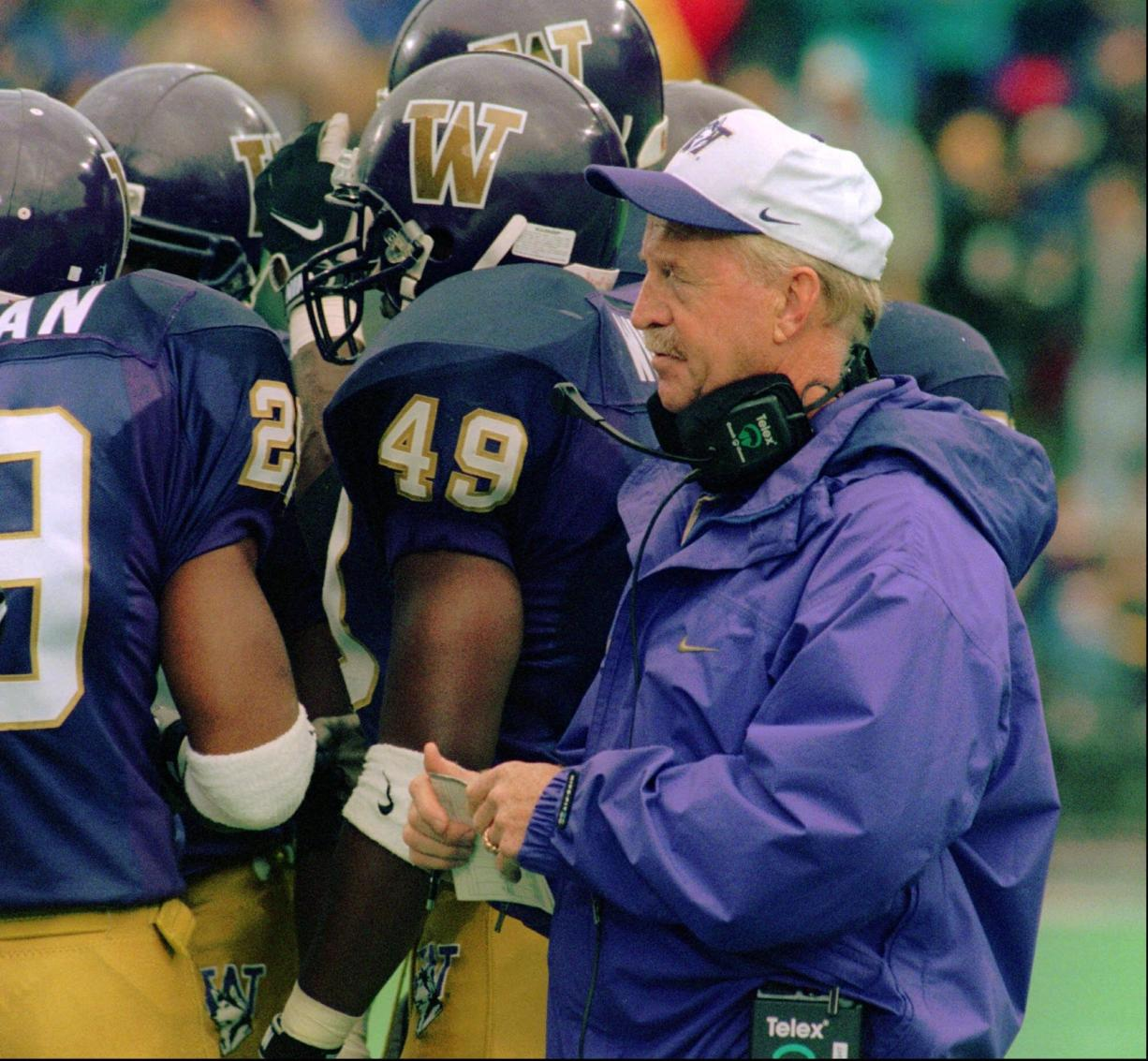 Jim Lambright led the Washington Huskies to the Pac-10 championship in 1995.