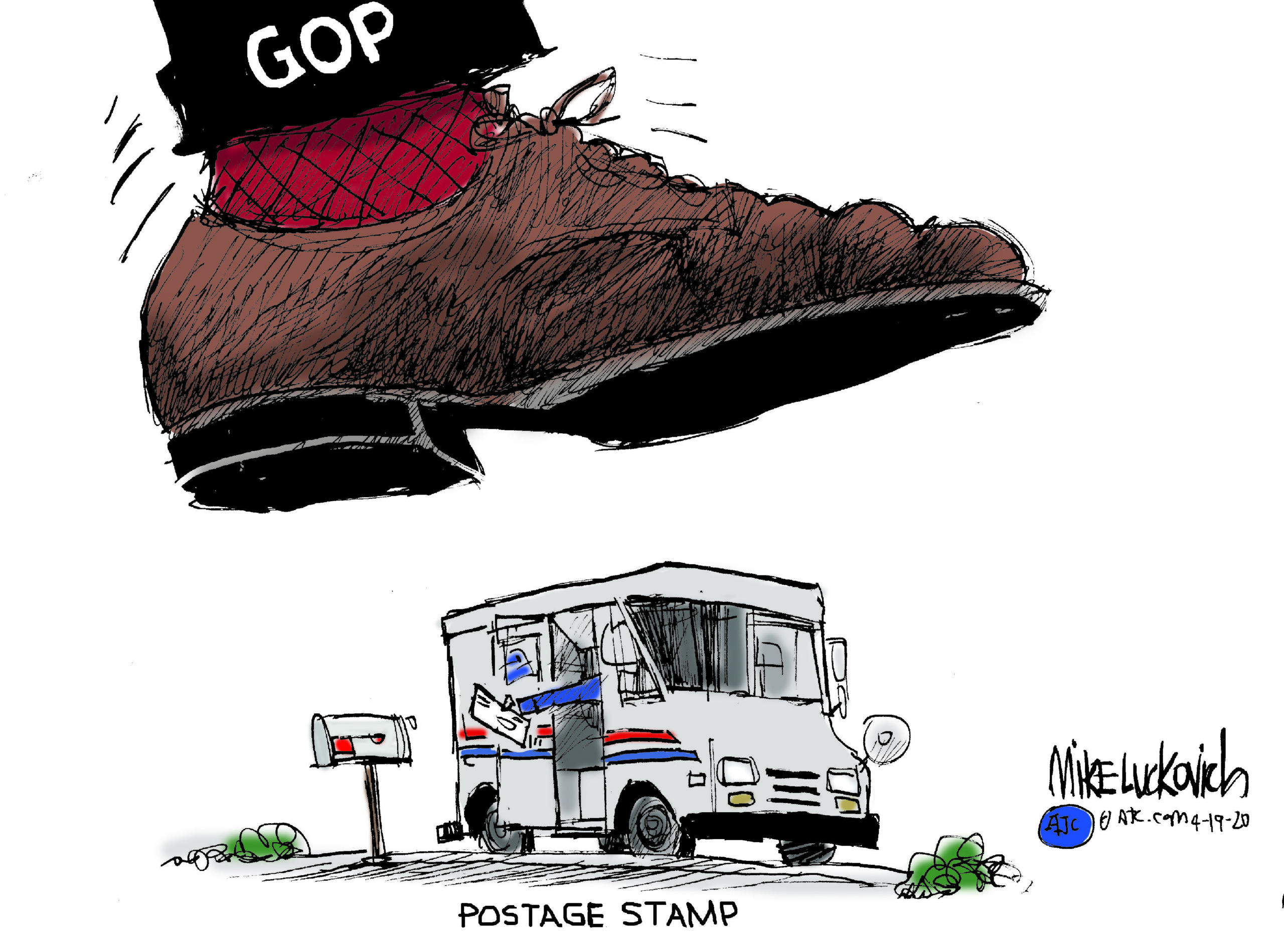 April 18: Postal Service