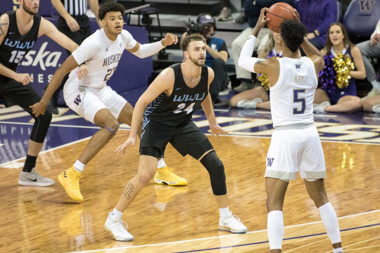 Western Washington's Trevor Jasinsky capped his career by averaging a team-best 14.8 points per game. He added 5.4 rebounds, 2.8 assists and 1.1 steals per game.