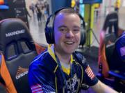 Riley Bufford played soccer at Prairie High School. Now, the U.S. Navy petty officer finds a similar teamwork and camaraderie  while playing for the Navy's first esports team, Goats and Glory.