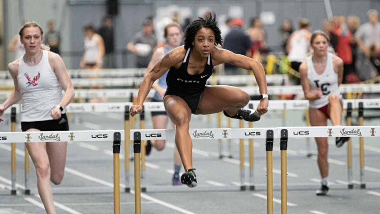 Erykah Weems qualified for the NCAA Division II indoor track and field championships for Central Washington. But she wasn't able to compete due to the COVID-19 outbreak.