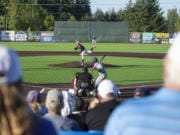 Fans are seen watching the Ridgefield Raptors play at the Ridgefield Outdoor Recreational Complex last July. Fans this season can expect social distancing efforts and hand washing stations.