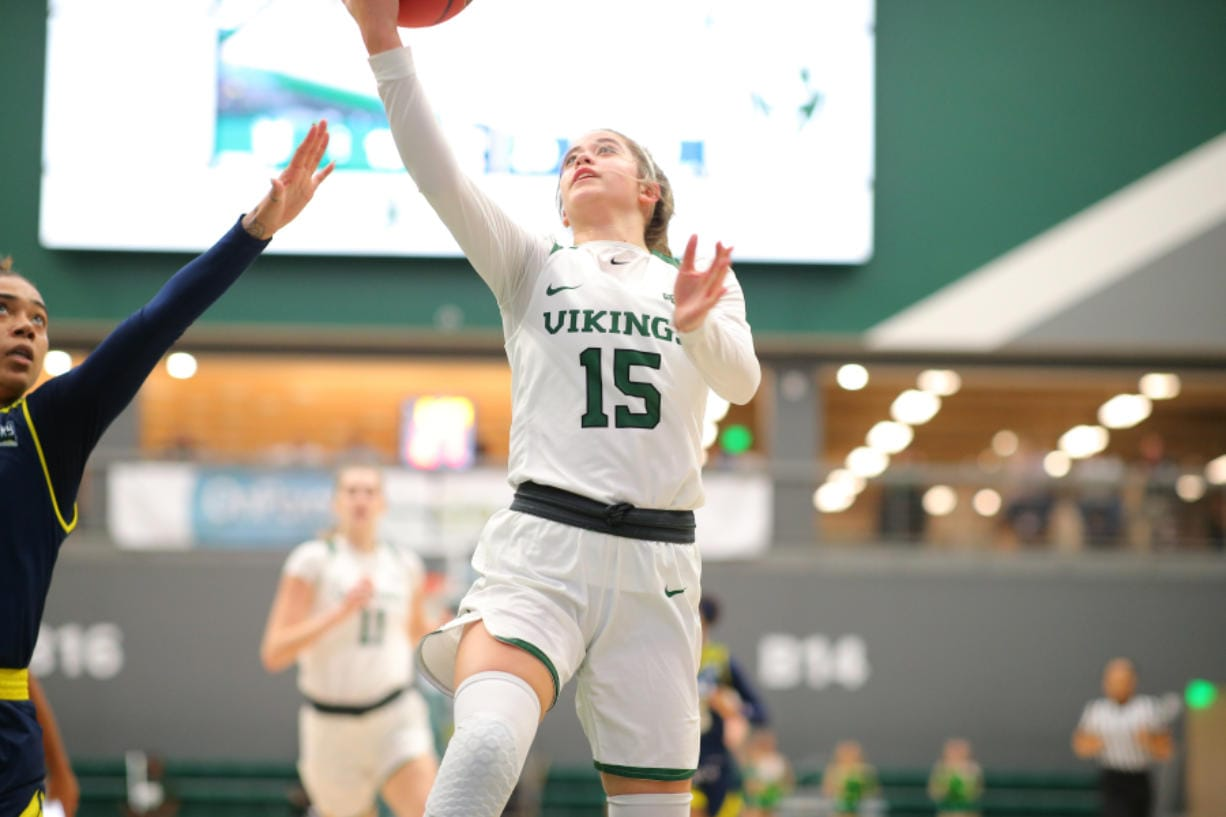 Cassidy Gardner played in 29 of 32 games last season for Portland State. She recently transferred to Central Washington in search of a college experience that better suited her.
