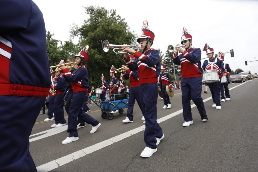 The 2020 Hazel Dell Parade of Bands has been canceled.