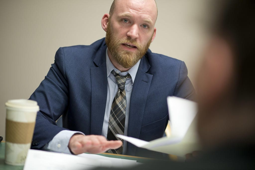 """""""We know a lot of people have legal questions right now both related and not related to coronavirus,"""" said Eli Marchbanks, attorney with Navigate Law Group."""
