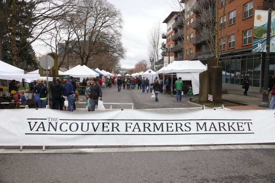 The Vancouver Farmers Market will return this spring but on a much smaller scale and observing social distancing  to prevent further spread of coronavirus.