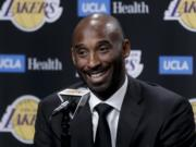 Former Los Angeles Laker Kobe Bryant and fellow NBA greats Tim Duncan and Kevin Garnett headlined a nine-person group announced Saturday, April 4, 2020, as this year's class of enshrinees into the Naismith Memorial Basketball Hall of Fame.