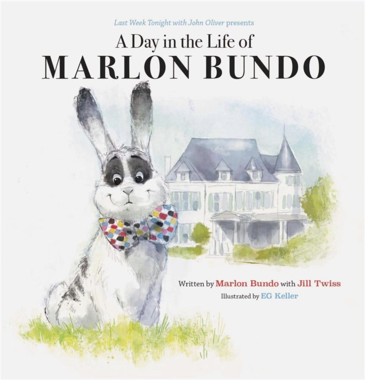 "This cover image released by Chronicle Books shows ""Last Week Tonight With John Oliver Presents A Day in the Life of Marlon Bundo,"" written by Marlon Bundo with Jill Twiss and illustrated by EG Keller. The book was among the top 10 challenged books in 2019, according to the American Library Association."