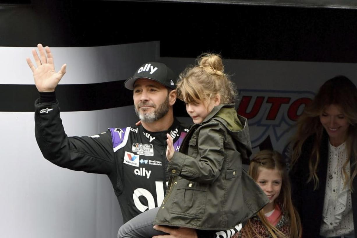 Jimmie Johnson wanted to retire from full-time racing to step away from NASCAR's 11-month grind. The coronavirus pandemic has brought his final season to an unexpected pause, and now the seven-time champion isn't sure what his future holds.