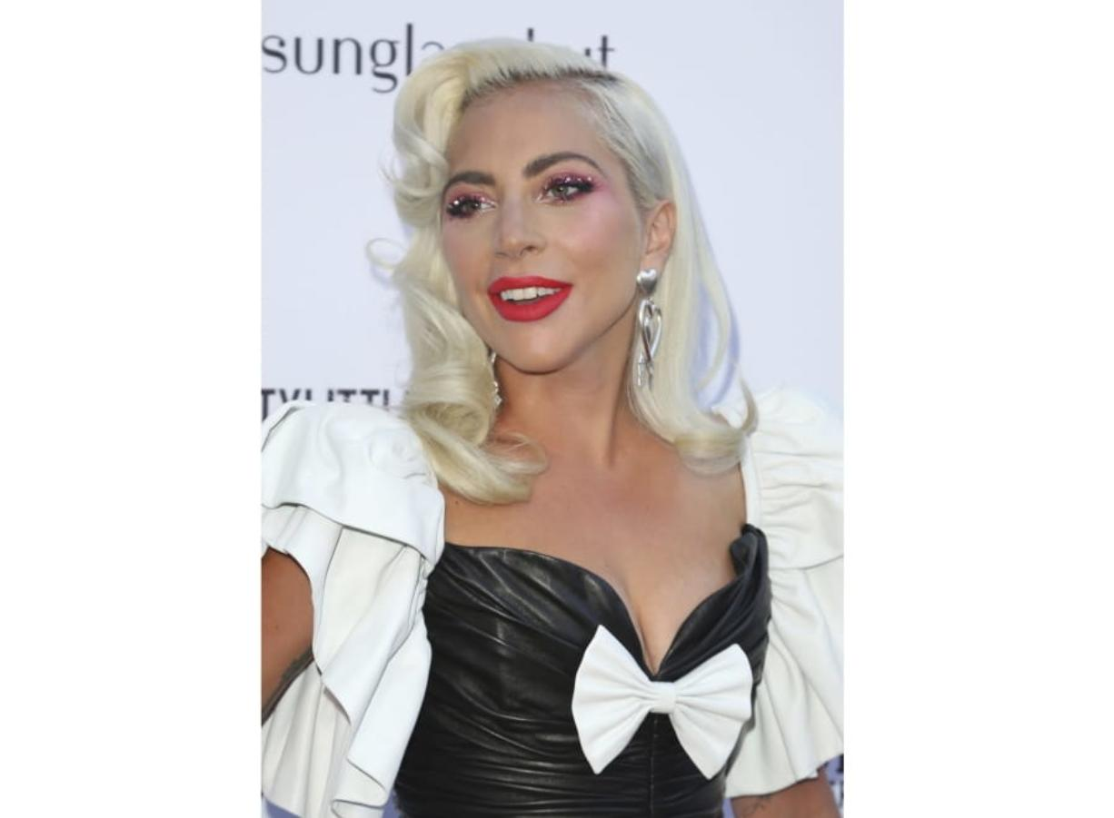 FILE - This March 17, 2019 file photo shows Lady Gaga at the 2019 Daily Front Row's Fashion Los Angeles Awards in Beverly Hills, Calif. Gaga and advocacy organization Global Citizen have raised millions to fight the coronavirus and will launch a TV special featuring Paul McCartney, Stevie Wonder and Billie Eilish to combat the growing virus. Gaga said on Monday that the money was raised in seven days and will benefit The World Health Organization.