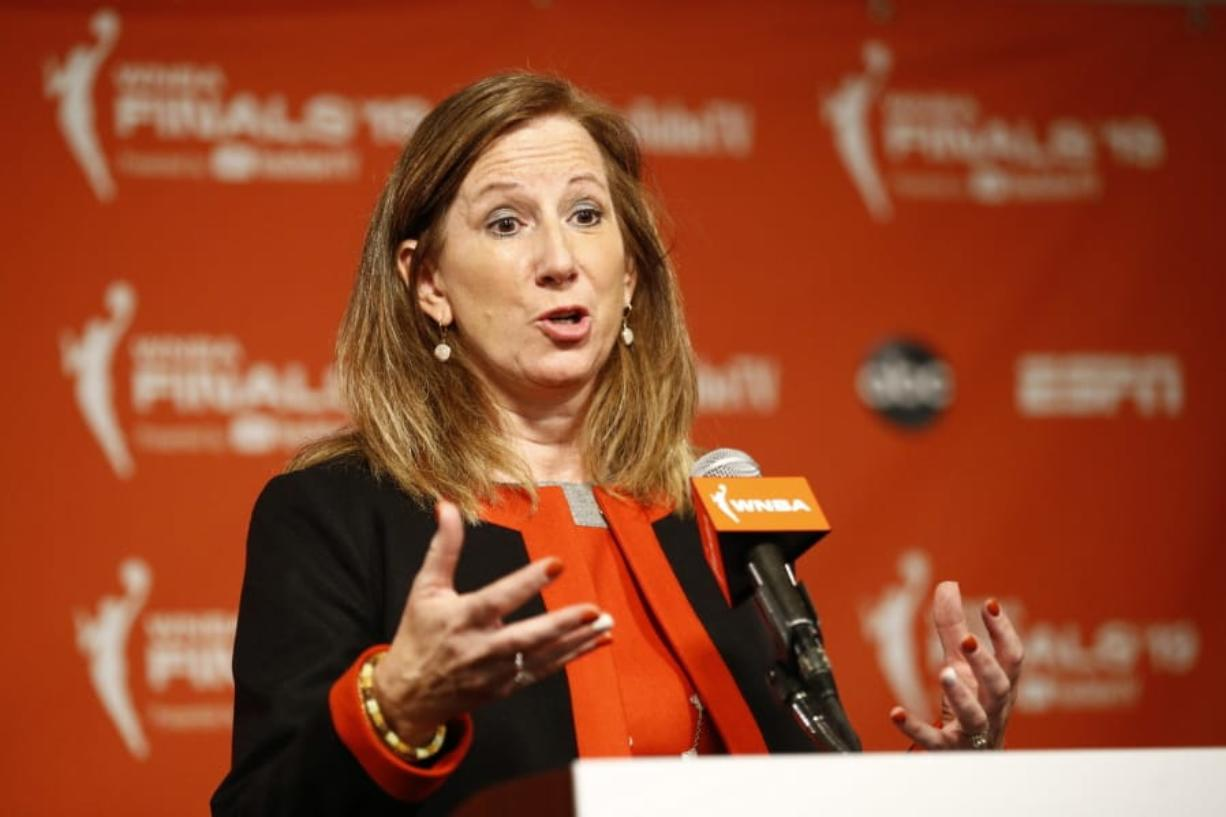 WNBA Commissioner Cathy Engelbert announced the postponement of the state of the 2020 season on Friday, April 3, 2020. It's unclear when the season will begin.