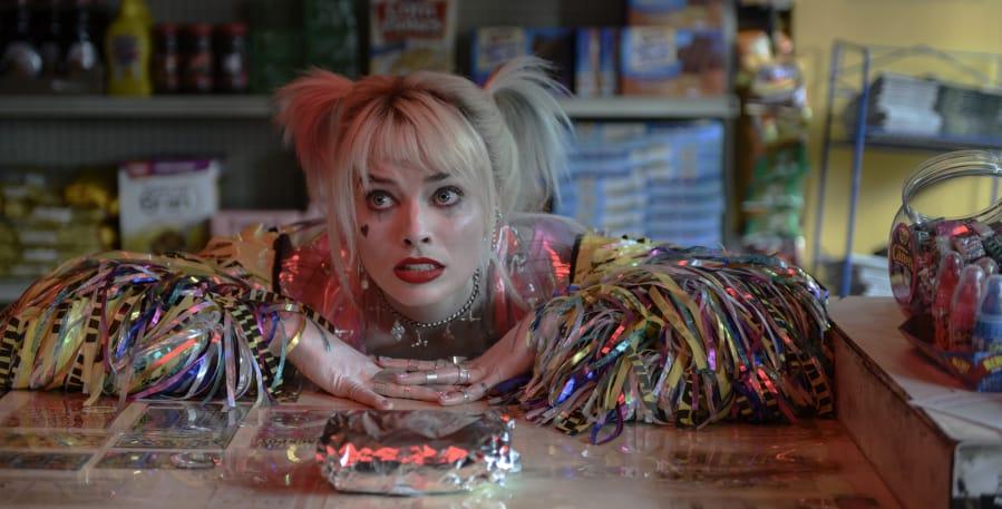 """Margot Robbie in a scene from """"Birds of Prey."""" (Claudette Barius/Warner Bros."""