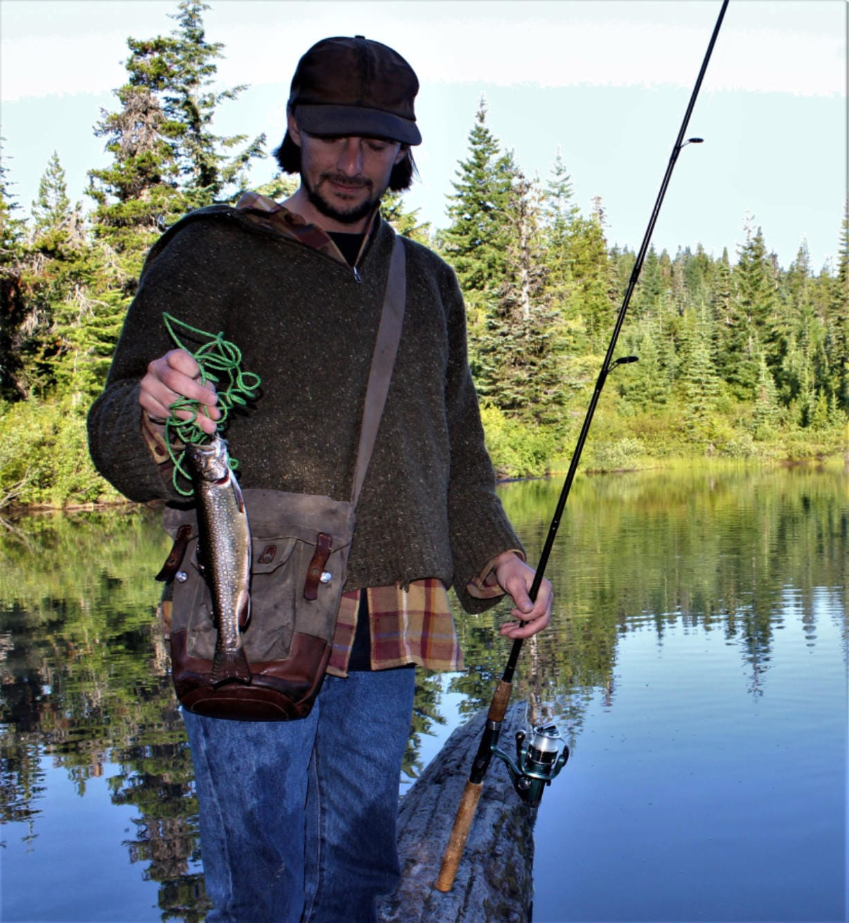 During the recent fishing closure due to the Coronavirus pandemic the WDFW continued to stock lakes with trout.