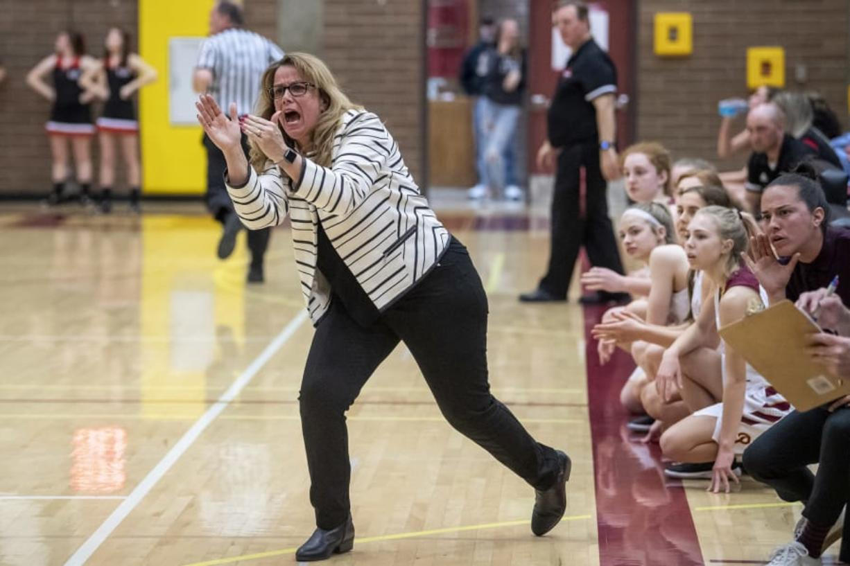 Prairie head coach Hala Corral helped lead the girls basketball program to the WIAA Class 3A state title in 2019.