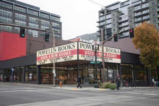 Powell's Books in Portland.