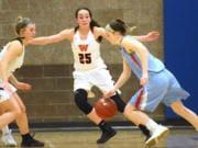 Washougal's Skylar Bea (25) will be playing for the University of Idaho next season.