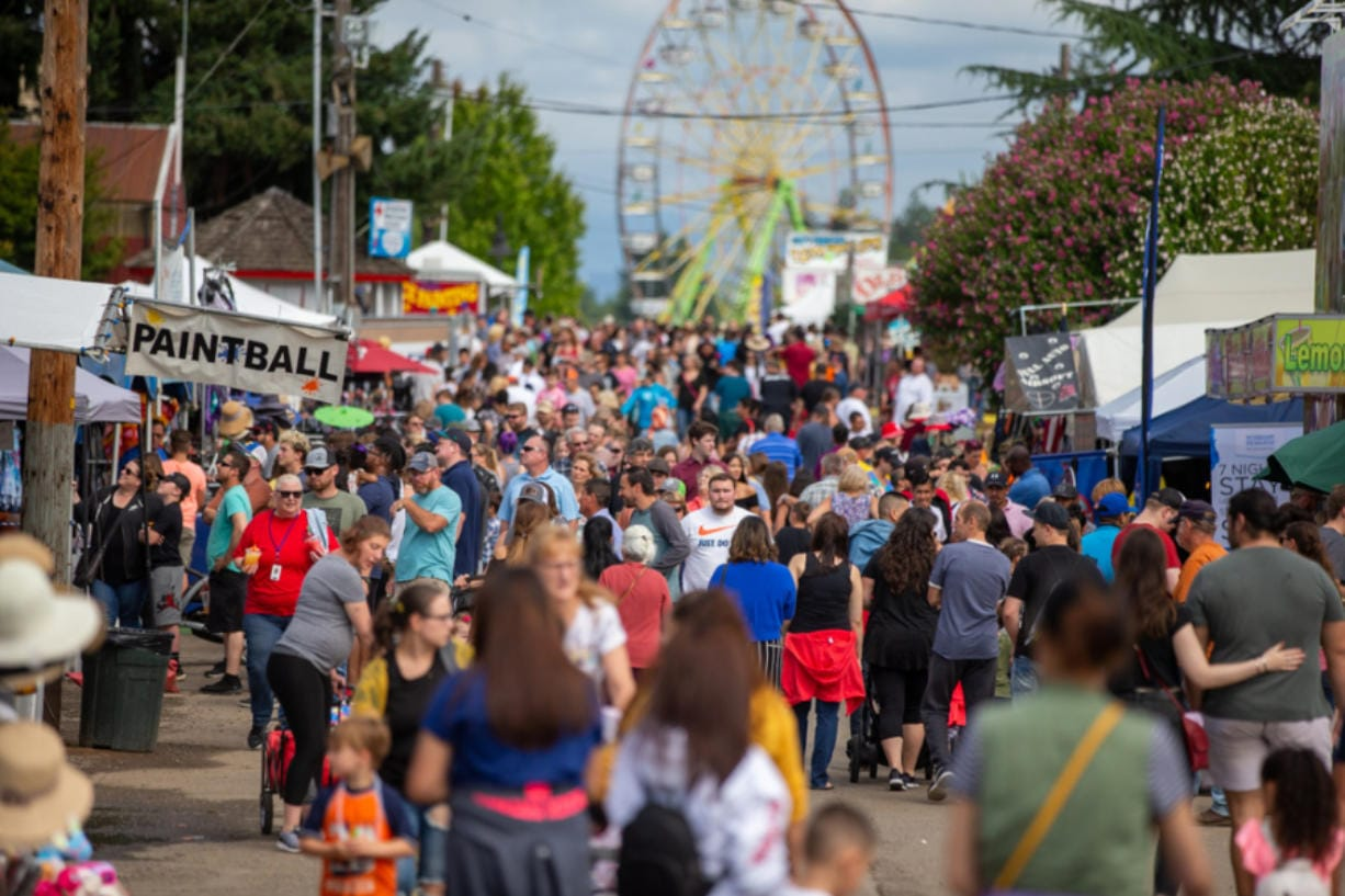 This crowd at the 2019 Clark County Fair is just one snapshot of our world's overpopulation.
