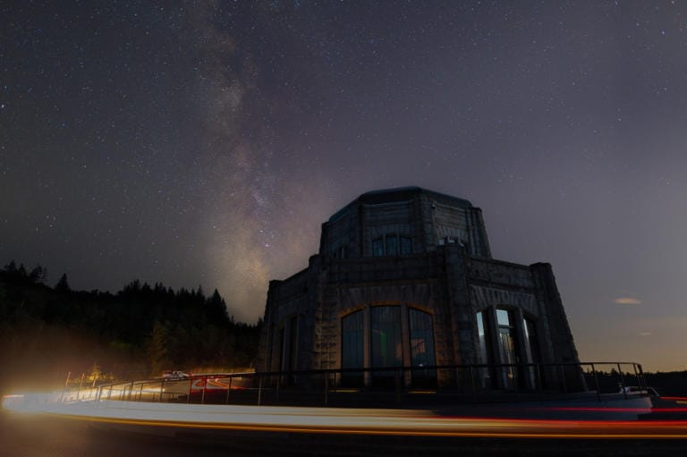 """""""Milky Way Over Beehive"""" by Matthew Smith won an honorable mention in the Friends of the Gorge photo contest. """"For this image I wanted to find an accessible location near our urban areas where people can witness the Milky Way,"""" Smith wrote."""