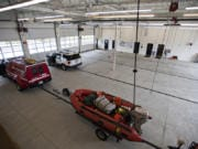 The new Station 63 in Salmon Creek has extra room for emergency vehicles. The station was built with future expansion of Fire District 6 in mind, said the fire chief.