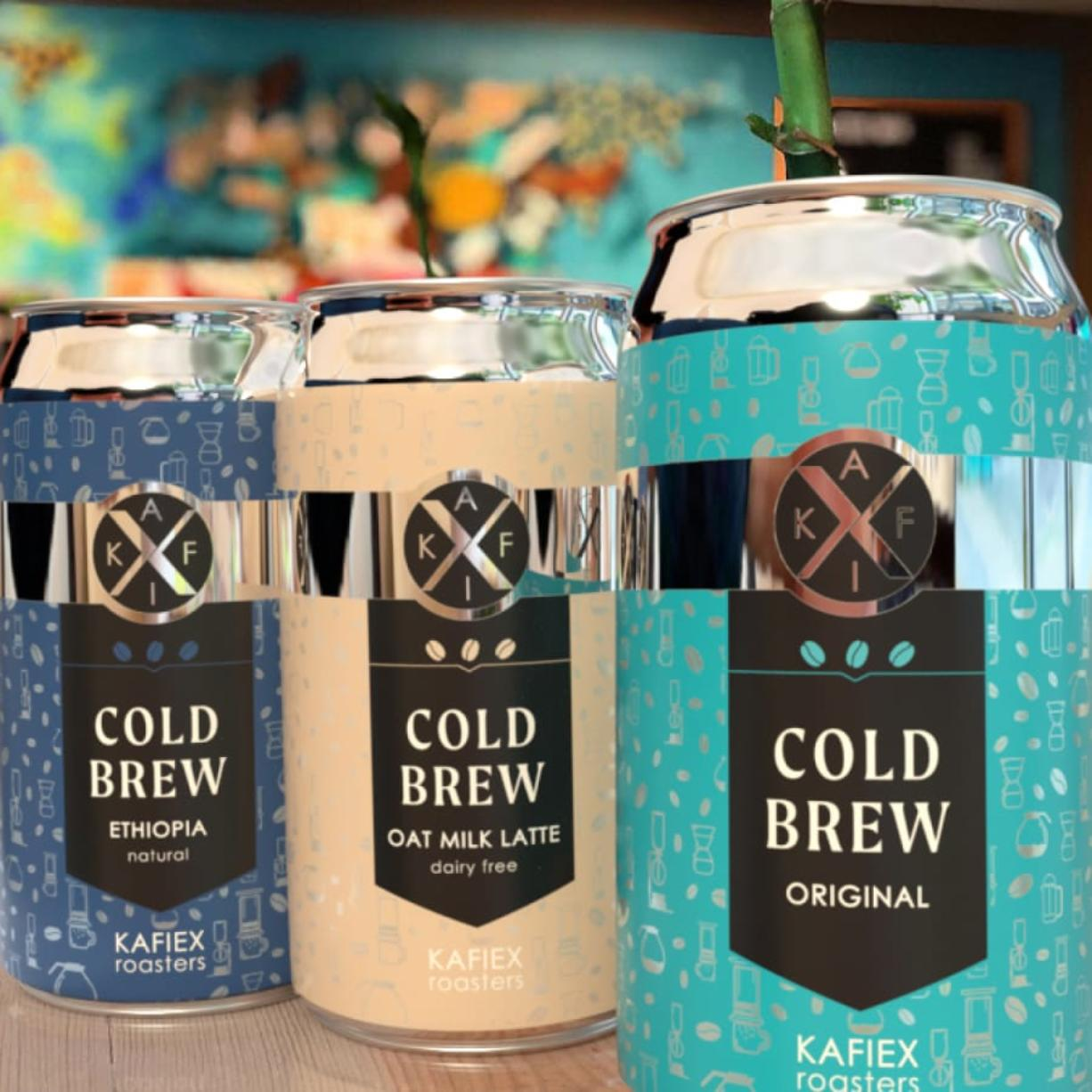 Kafiex Roasters had long wanted to can cold brew, and the pandemic pushed it to the top of the shop's to-do list.