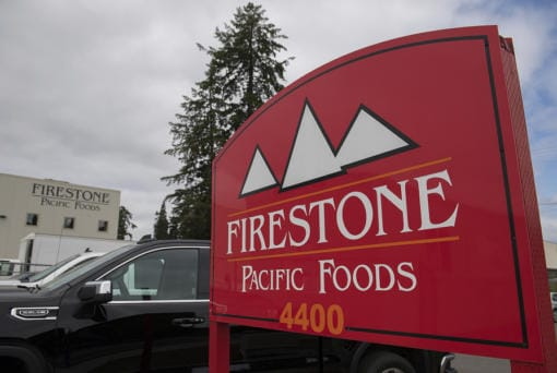 Firestone Pacific Foods hopes to restart some of its production in the near future, but it will need approval from Clark County Public Health and the state Department of Labor & Industries before restarting.