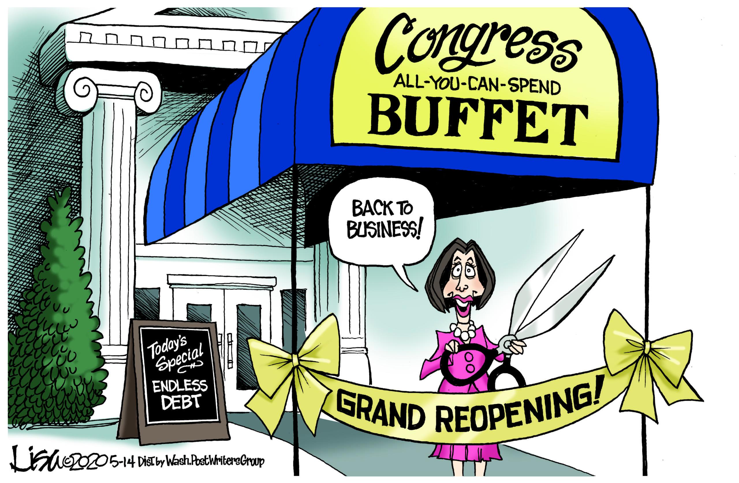 May 16: Nancy's Buffet