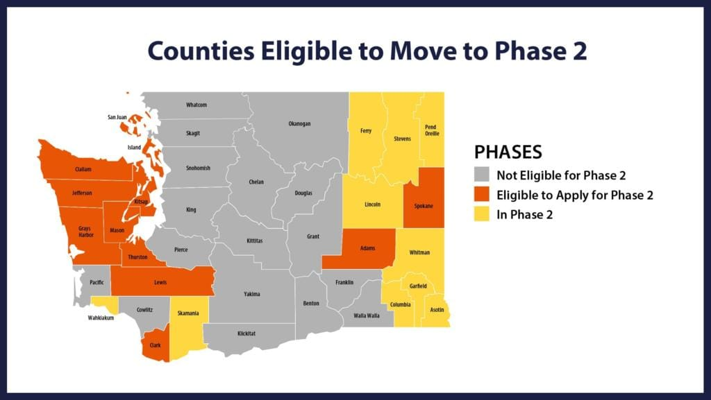 Inslee: More counties can expedite reopening process