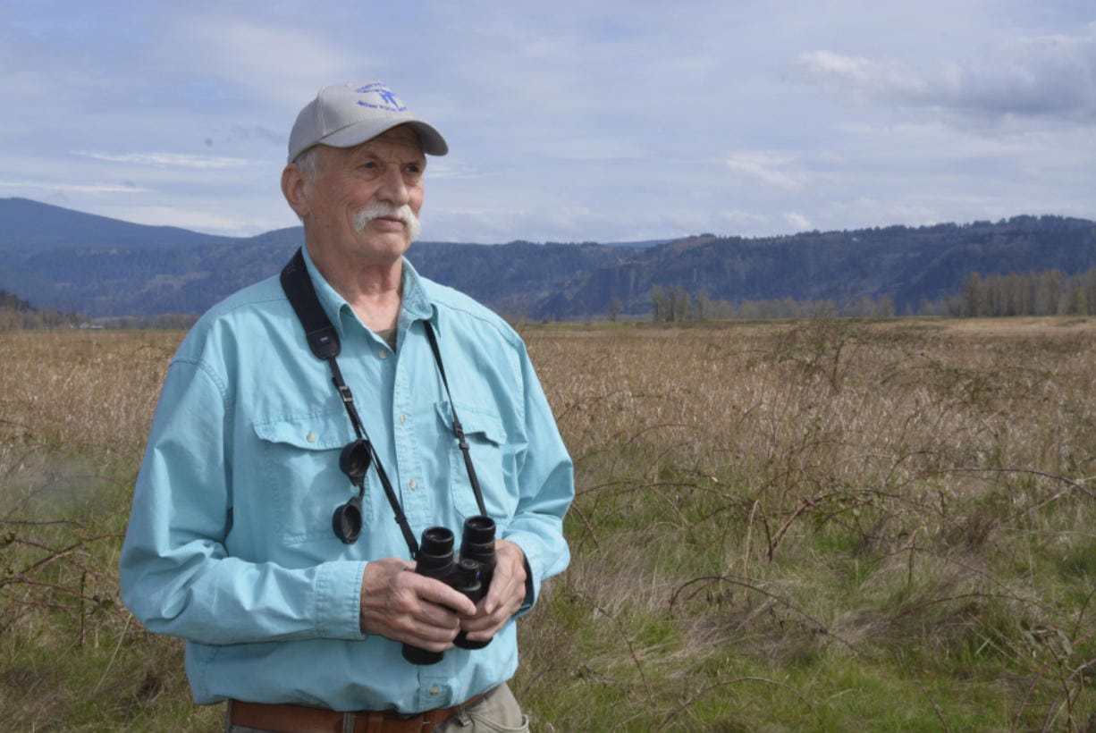 Wilson Cady is in charge of tracking bird sightings for the Vancouver Audubon Society.