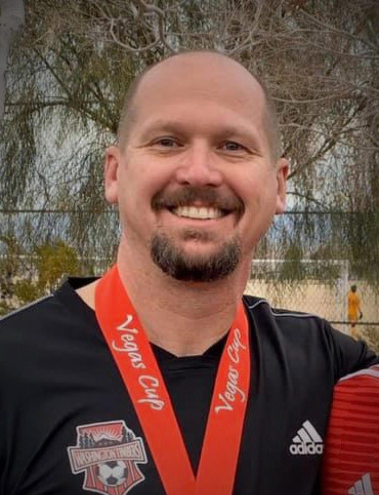 Jeff Lukowiak, hired as Ridgefield girls soccer coach on June 4, 2020.