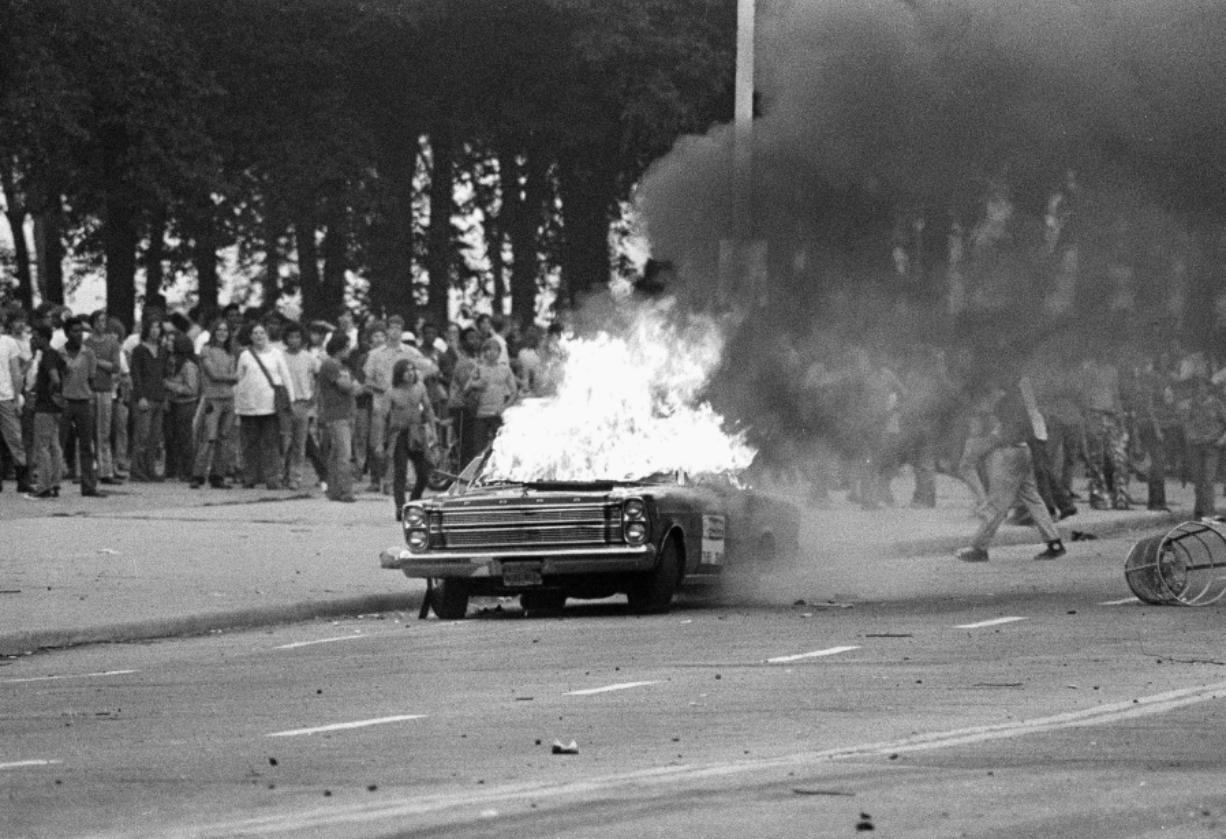 Lou Brancaccio was in the middle of this riot in Chicago's Grant Park on July 27, 1970.