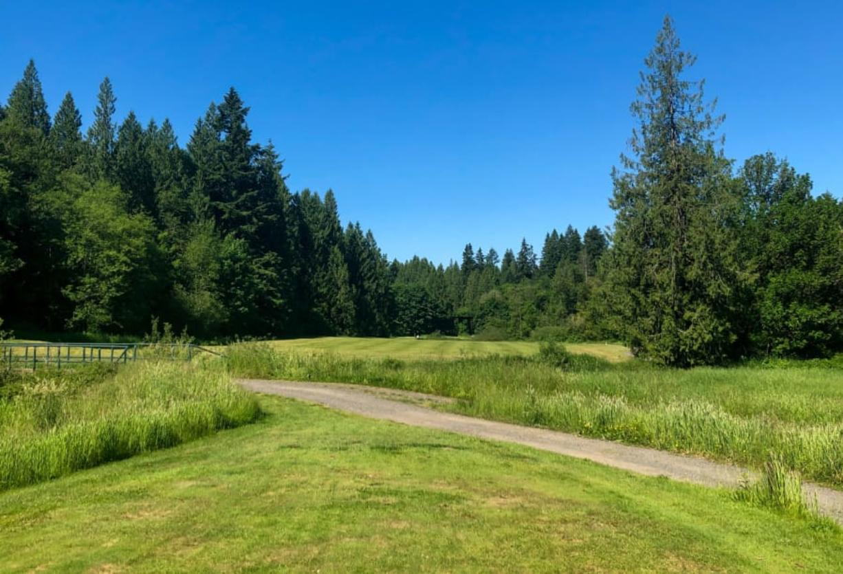 No. 7 hole at The Cedars on Salmon Creek and our first hole of the Dream 18.