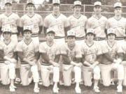 The 1984 Columbia River High School baseball team.