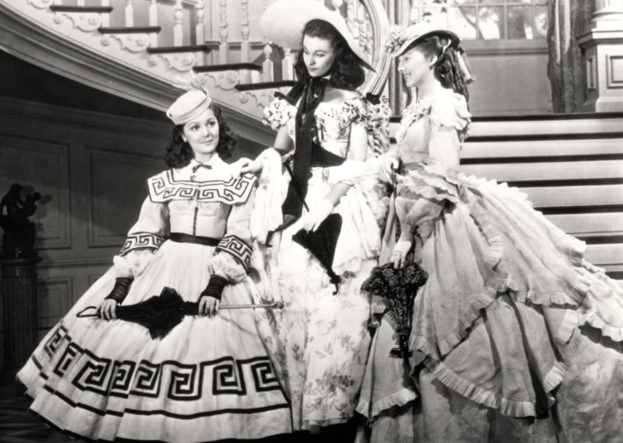 """Ann Rutherford, from left, Vivien Leigh and Evelyn Keyes in """"Gone with the Wind."""" (New Line Cinema)"""