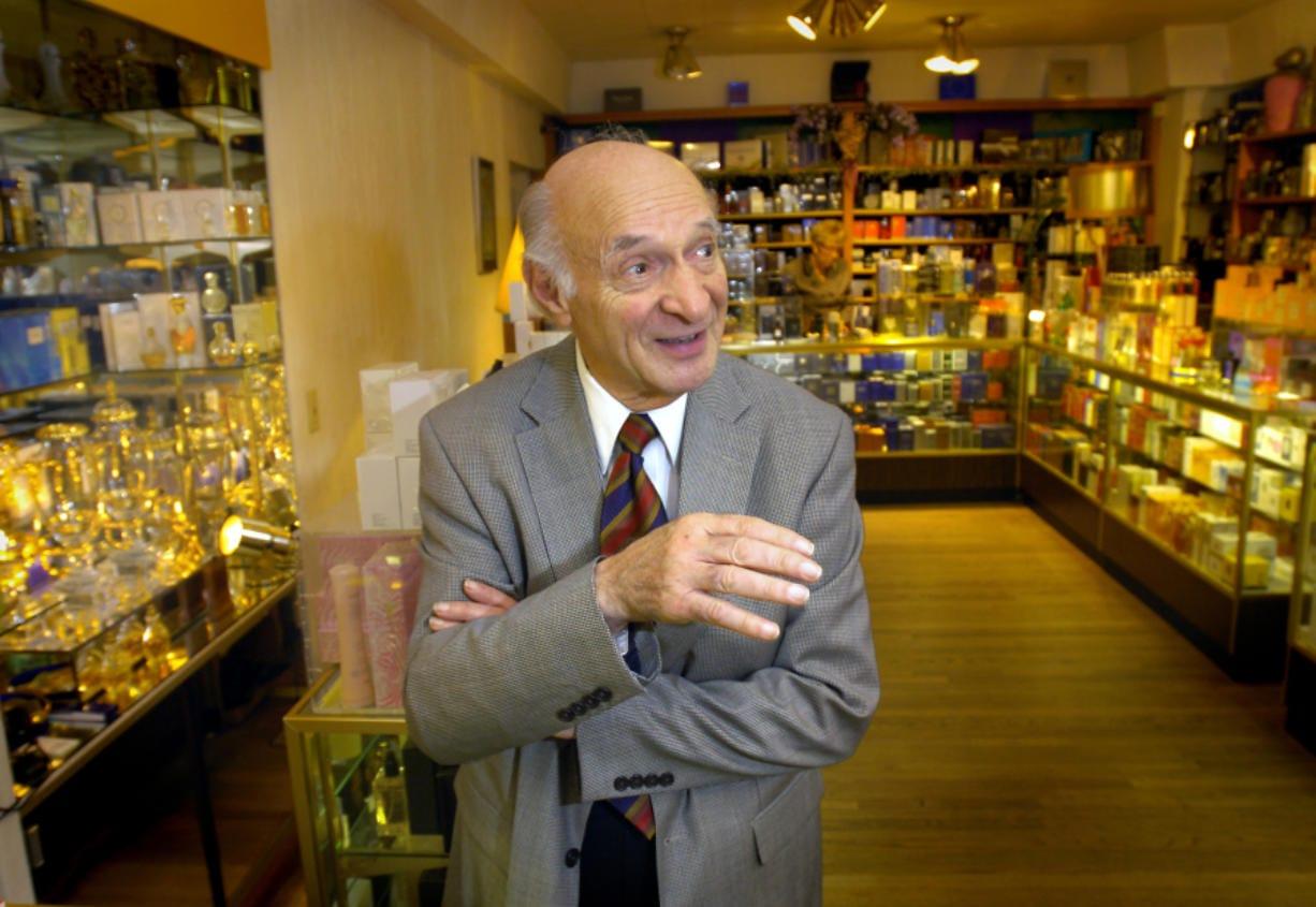 Chris Tsefalas, owner of The Perfume House, 3328 S.E.