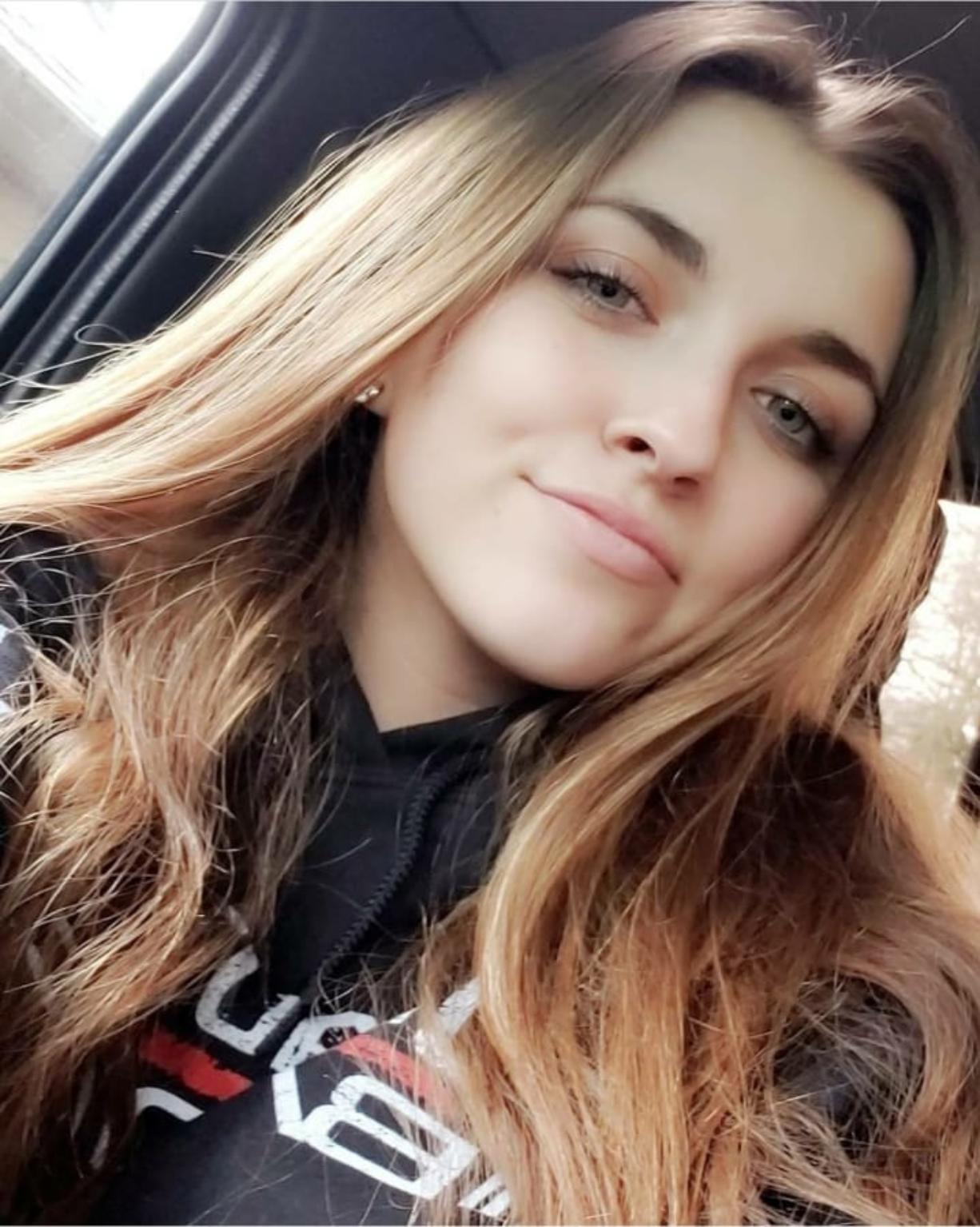 Lacey Carol-Lynn Hall, 15, died in the crash near the 700 block of Davis Peak Road, about six miles east of Woodland, the sheriffis office reported in a press release Wednesday.