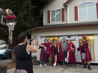 Neighborhood Graduation for class of 2020