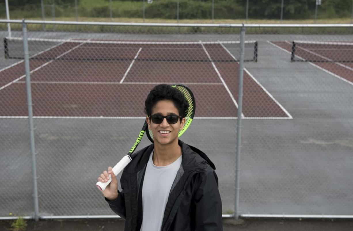 Camas junior Akash Prasad hasn't been able to get on a tennis court in several months during the COVID-19 pandemic, but he remains hopeful he will improve his game and be ready again for a big senior season in the fall.