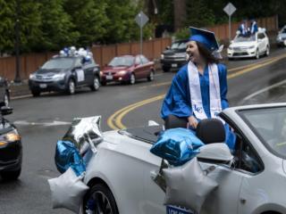 La Center High School Car Graduation
