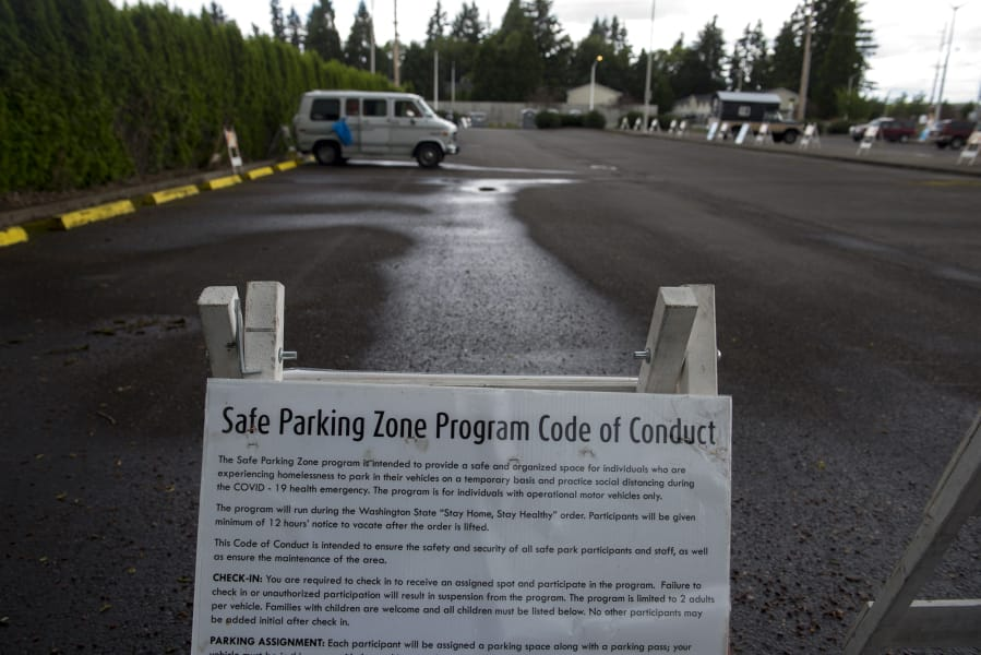 The Safe Parking Zone program has been moved from the Vancouver Mall to Evergreen Transit Center. Anyone looking to register for the free program can do so from 10 a.m. to noon on weekdays.