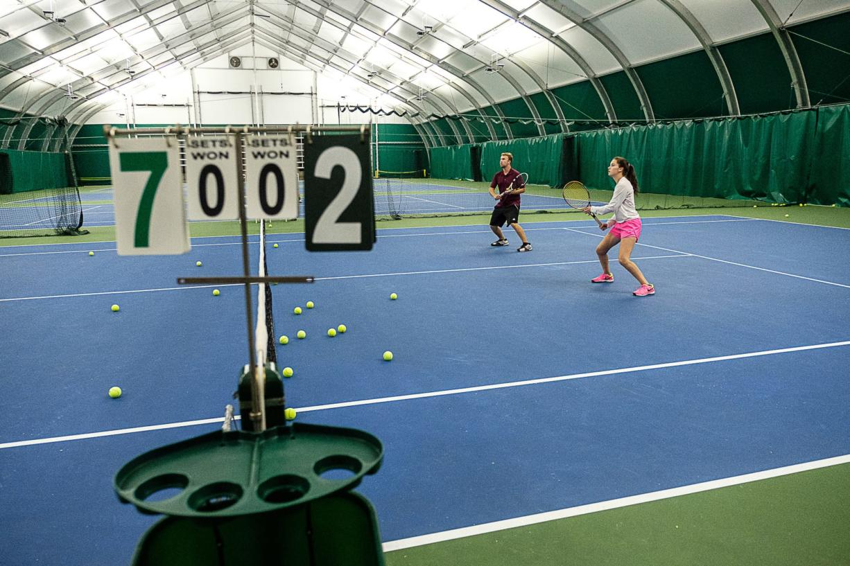 Evergreen Tennis in Camas is set to reopen its four indoor courts on Monday, June 15, after being closed due to restrictions from the COVID-19 pandemic.