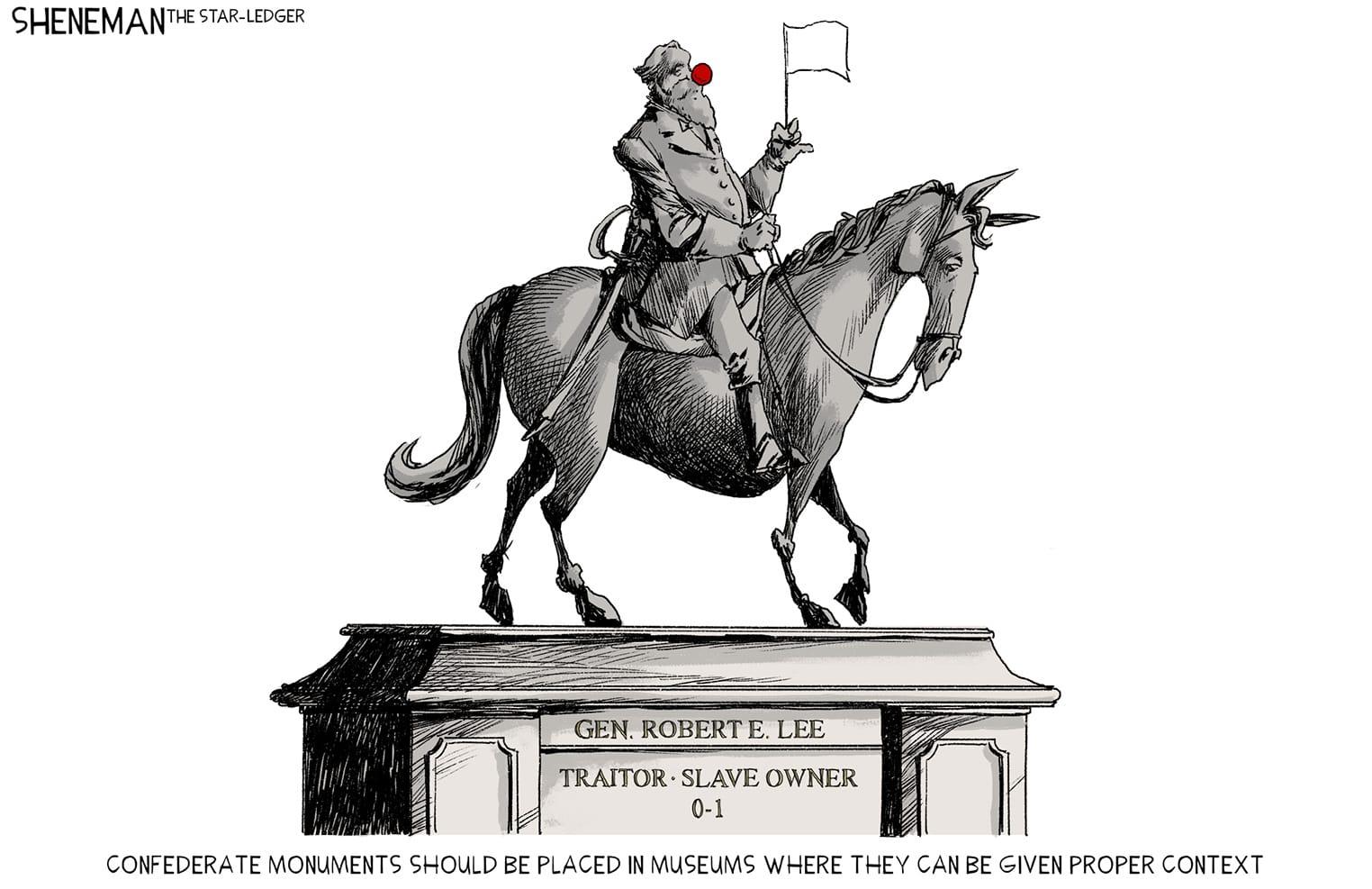 June 20: Confederate Statues