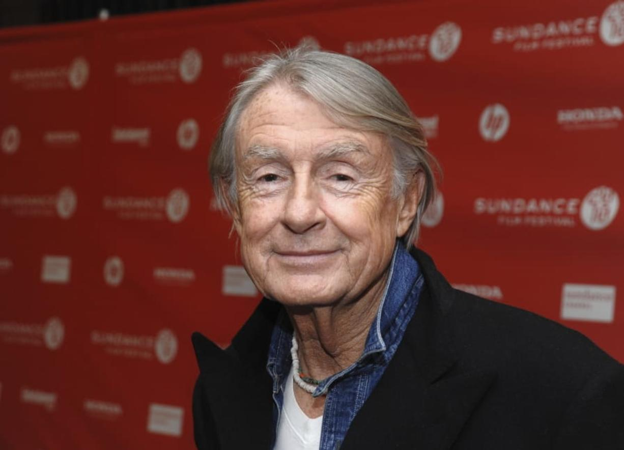 "FILE - In this Jan. 29, 2010 file photo, director Joel Schumacher attends the premiere of ""Twelve"" during the 2010 Sundance Film Festival in Park City, Utah. A representative for Schumacher said the filmmaker died Monday, June 22, 2020, in New York after a year-long battle with cancer. He was 80."